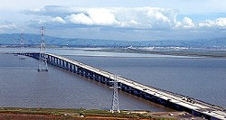 You'd be well-advised to avoid the Dumbarton Bridge this morning