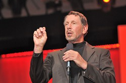 You'd have needed an oracle to predict Larry Ellison wouldn't be the Warriors next owner... - ORACLE CORPORATE COMMUNICATIONS