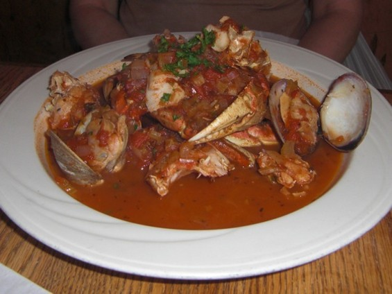 You'll score major points when your server ties a bib on mom for a cioppino feast. - SARAH C./YELP