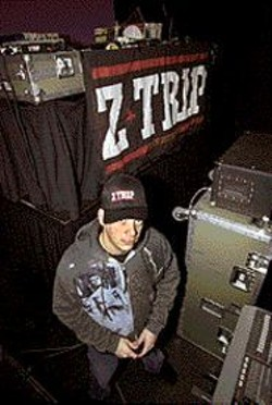 Z-Trip: Portrait of the rock star as a young - DJ.