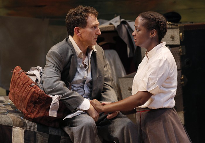 South Carolina, where this play is set, didnt lift their constitutional ban on interracial marriage until 1998.