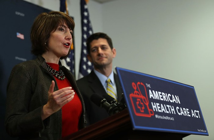 Spokanes Cathy McMorris Rodgers is the fourth-highest-ranking Republican in the U.S. House of Representatives.