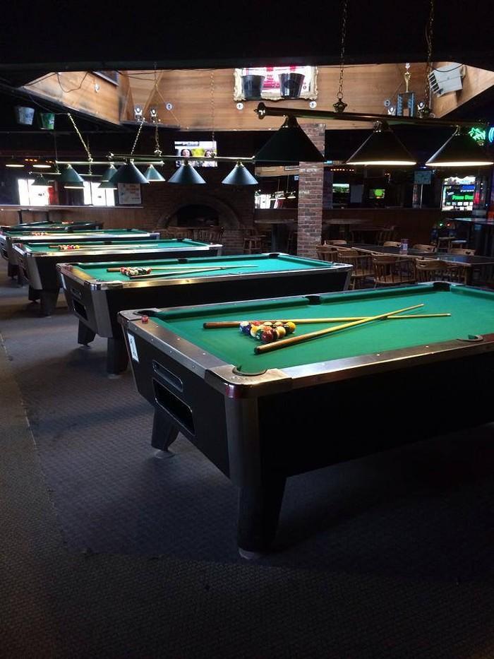 Ballard Grill Alehouse Seattle WA The Stranger - Ballard pool table
