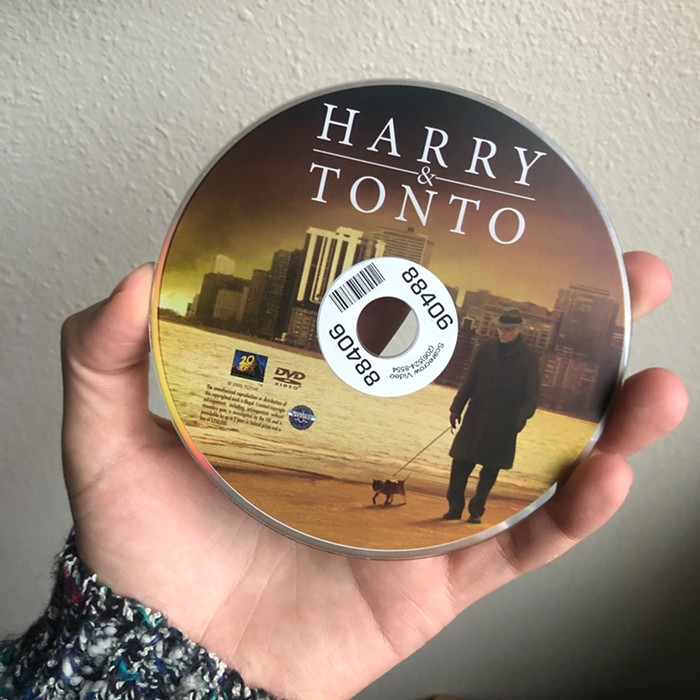 Harry won an Academy Award. Tonto did not.