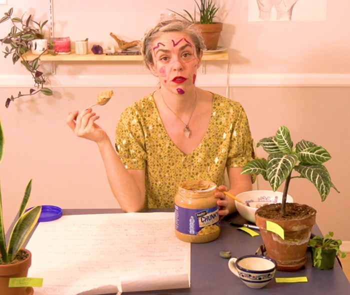 For advice on using peanut butter to ease tensions with a roommate or spouse, watch Zoes video.