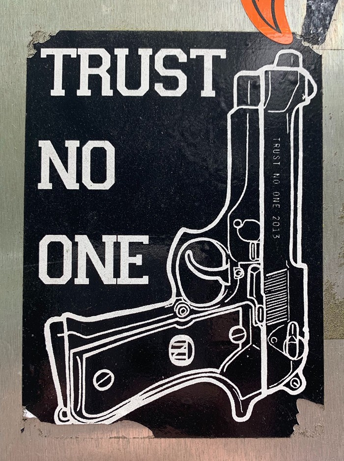 Not pro-gun, but very pro-trusting-people-when-theyve-earned-it.