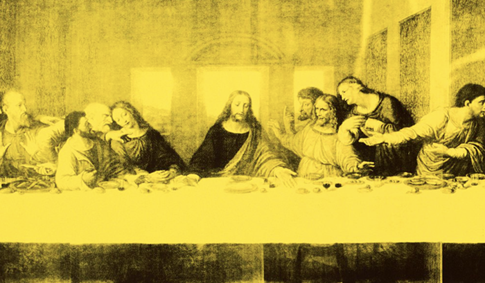 """How to Look at Andy Warhol's """"The Last Supper"""""""