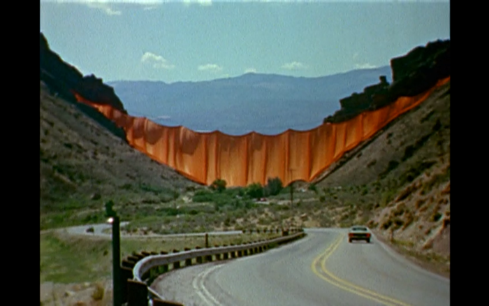 Oh how I wish I could have seen Valley Curtain in person.