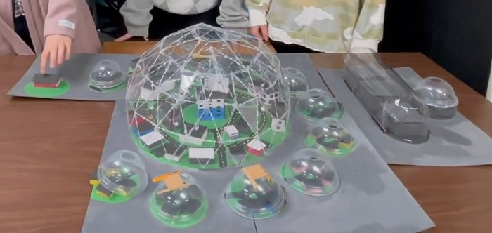 The future is domes