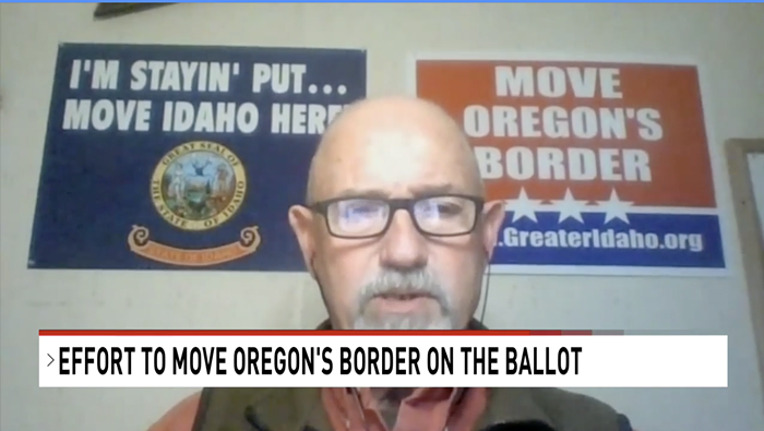 IM STAYIN PUT... MOVE IDAHO HERE! says the people behind Move Oregons Border, which heads to a ballot in May. Im telling Canada to move their medical system here next.