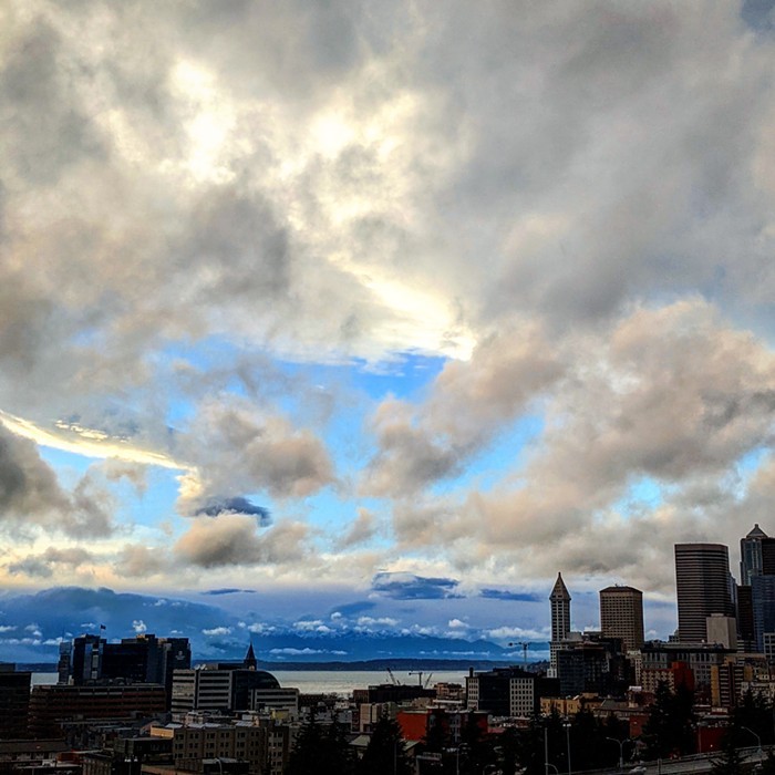 Only when Seattle looks good...