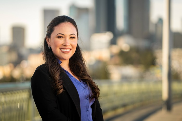 Hasegawa said she was the youngest woman of color ever to serve as a cabinet member at the state.