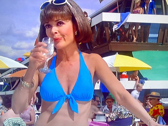 Jessica Walter radiates a younger Lucille Bluth as Phyllis Brody in The Flamingo Kid.