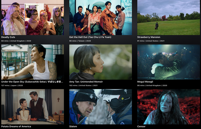 A peek at my first round of movies Im trying to get through for this years SIFF, which kicks off tonight!