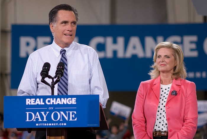Slog AM: Republicans Boo Notorious Communist Mitt Romney, West Seattle's Losing a Giant Parking Lot, the Mountlake Terrace Crow Killer Has Been Caught