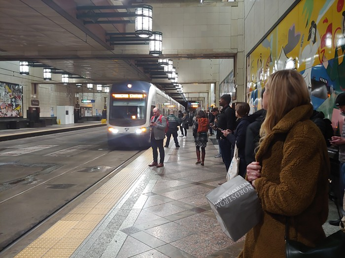 We are waiting for the rats. When they arrive, light rail really arrives.