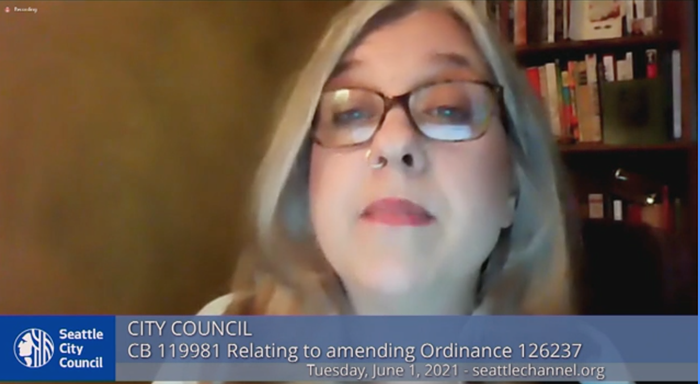 Councilmember Lisa Herbold amended the bill after receiving negative feedback from the judge in charge of the consent decree.