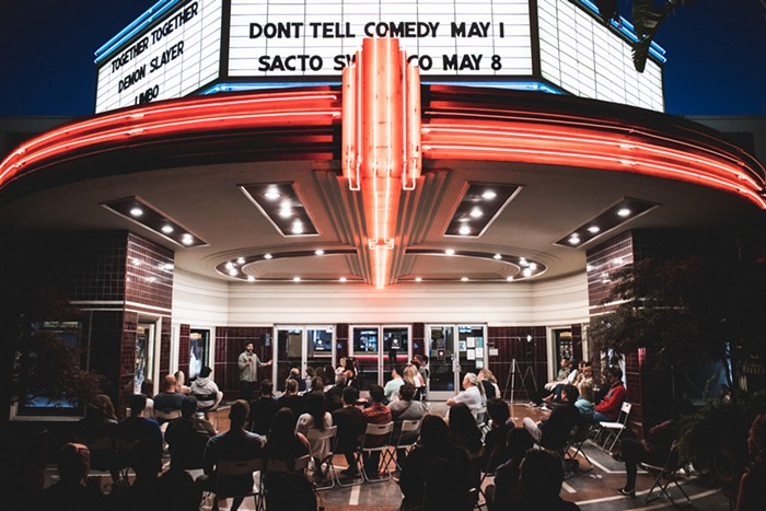A picture of a Dont Tell Comedy show last month. Can anyone place what city this is?