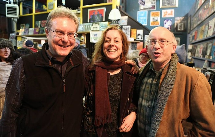 Kathy Fennessy writes: The Georgetown Records. Photo was taken in 2014. Tom Kipp is the gentleman on the left.