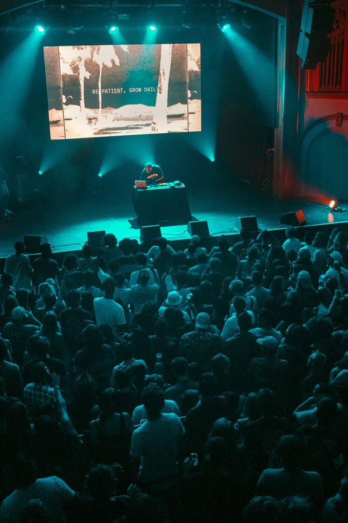 Sangos near-capacity crowd responded in hip-shaking earnest, blurring the lines between live show and nightclub.