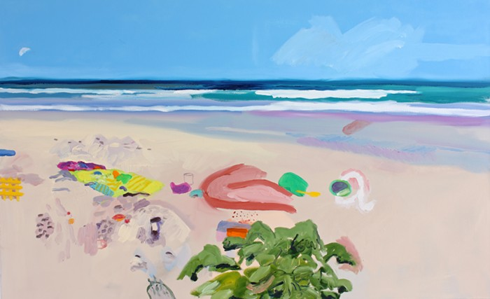 Susanna Bluhms At the Beach the Pequod Meets the Virgin feels like its calling me to Florida.....