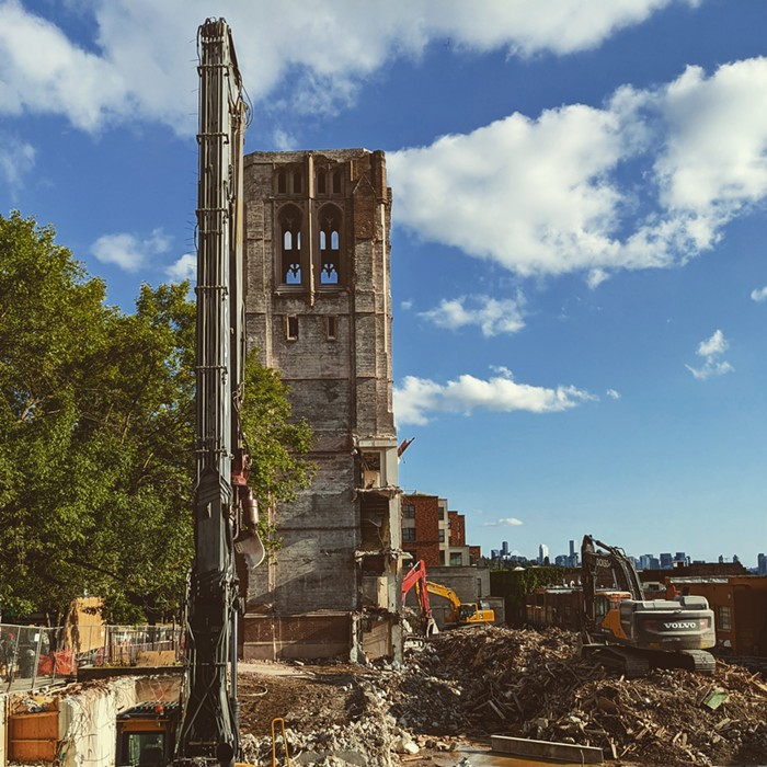 University Temple United Methodist Church made a masterpiece of Seattle rubble.