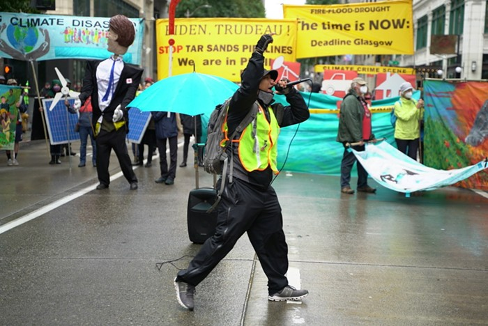 350 Seattle shut down 4th Ave today to protest the banks who finance climate catastrophe