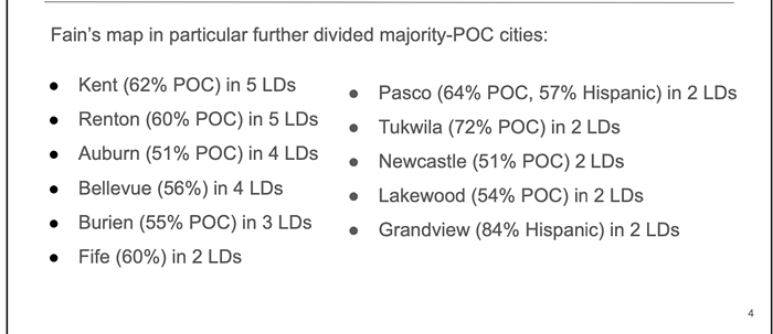 These numbers come from a Dem analysis of the maps.