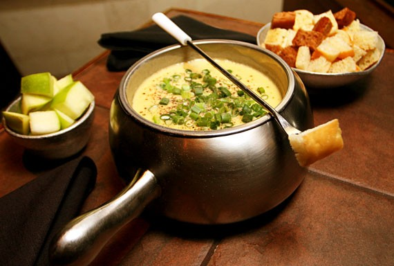 May The Forks Be With You At Melting Pot In Seattle Washington On
