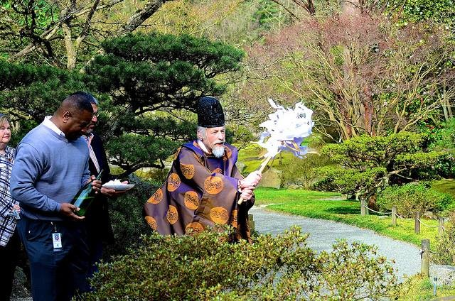 official opening of seattle japanese garden - Japanese Garden Seattle