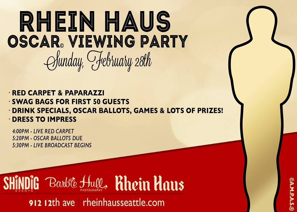 Prizes for oscar party games