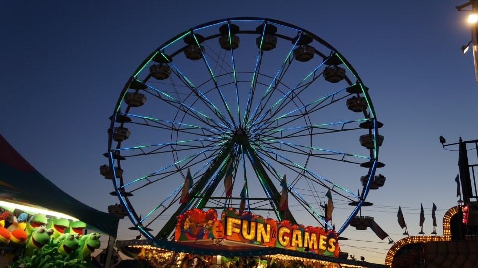 Evergreen State Fair At Evergreen State Fairgrounds In