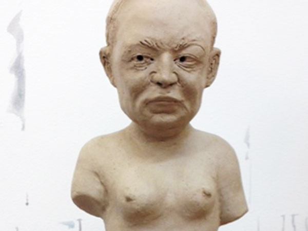 Akio Takamori's Drawings and Sculptures of Men Apologizing