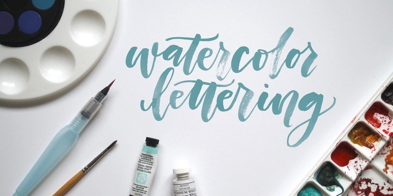 Watercolor Brush Calligraphy Class At Baked In Seattle Wa