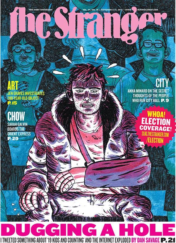 Print Edition for November 05, 2014 - The Stranger