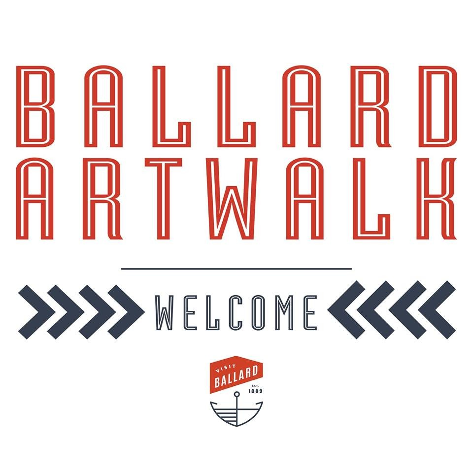 ballard art walk at ballard in seattle, wa on second saturdays, 6–9