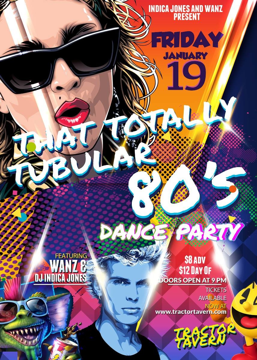 That Totally Tubular 80s Dance Party