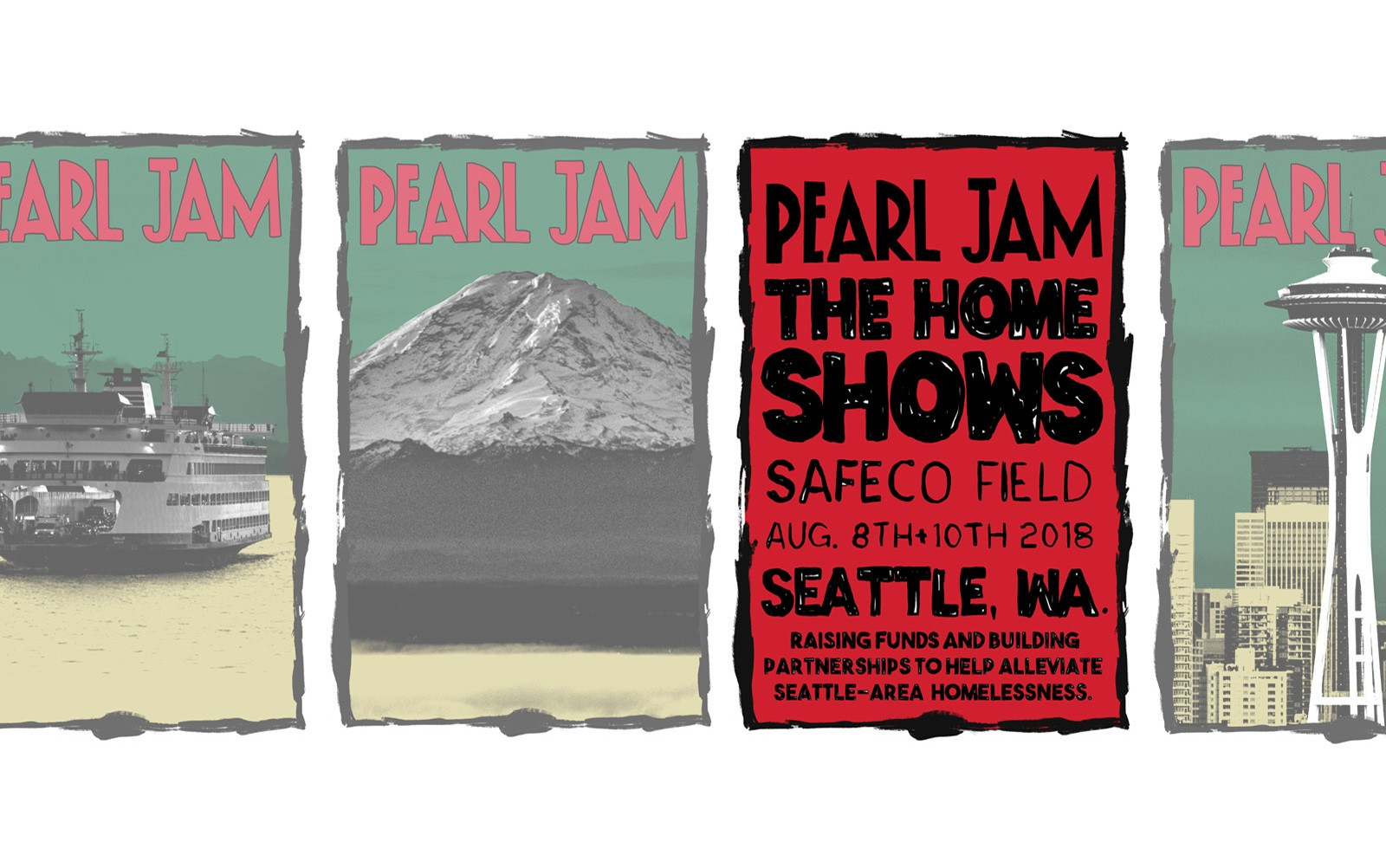 Pearl Jam at Safeco Field in Seattle WA on Wed Aug 8 Fri Aug 10