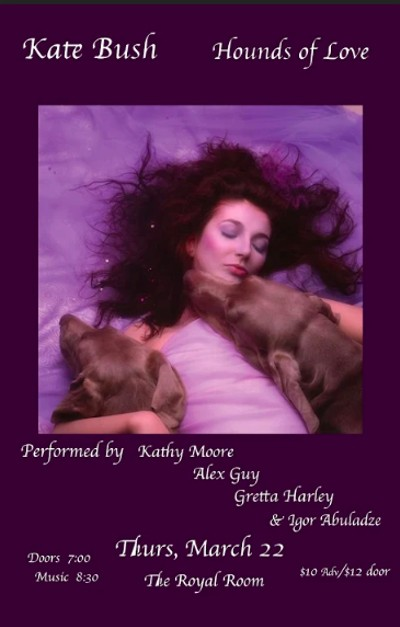 Kathy Moore And Alex Guy Play Kate Bush S Hounds Of Love