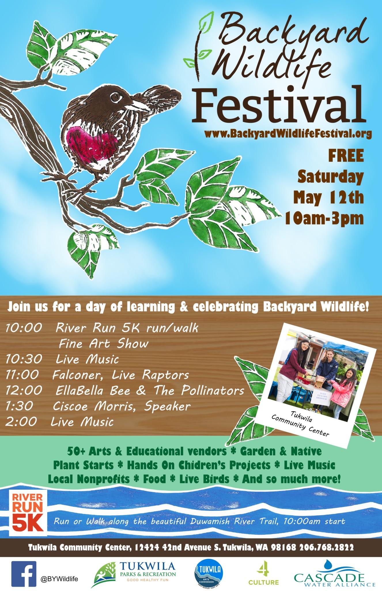 backyard wildlife festival