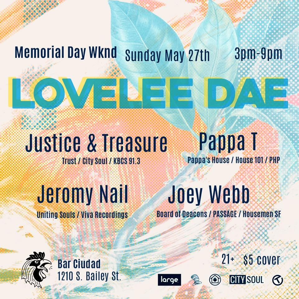 Lovelee Dae at Ciudad in Seattle, WA on Sun May 27, 3–9 pm - Seattle ...