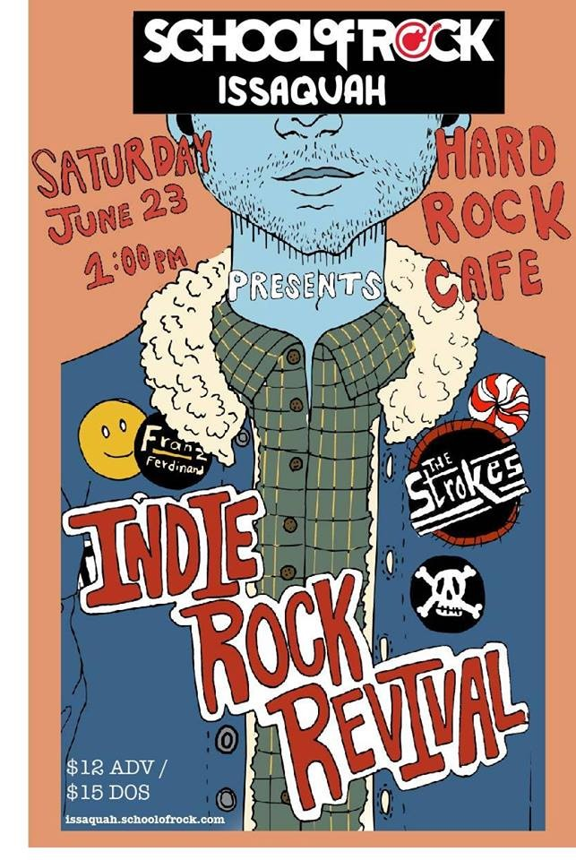 school of rock issaquah presents indie rock revival at hard rock