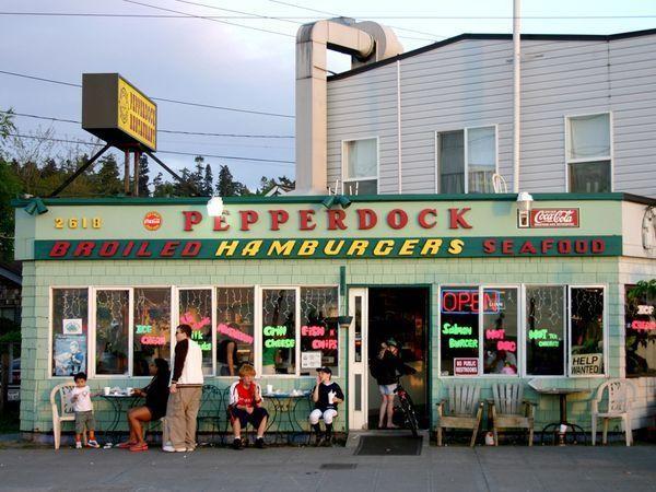 Pepperdock Restaurant Seattle Washington The Stranger