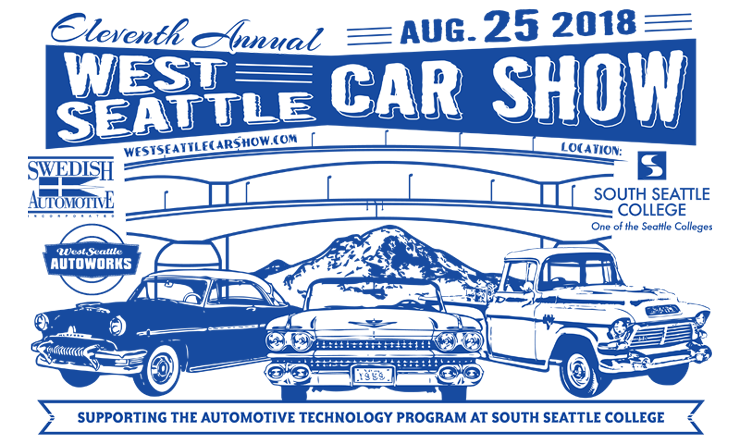 West Seattle Car Show At South Seattle College In Seattle WA On Sat - Classic car show seattle