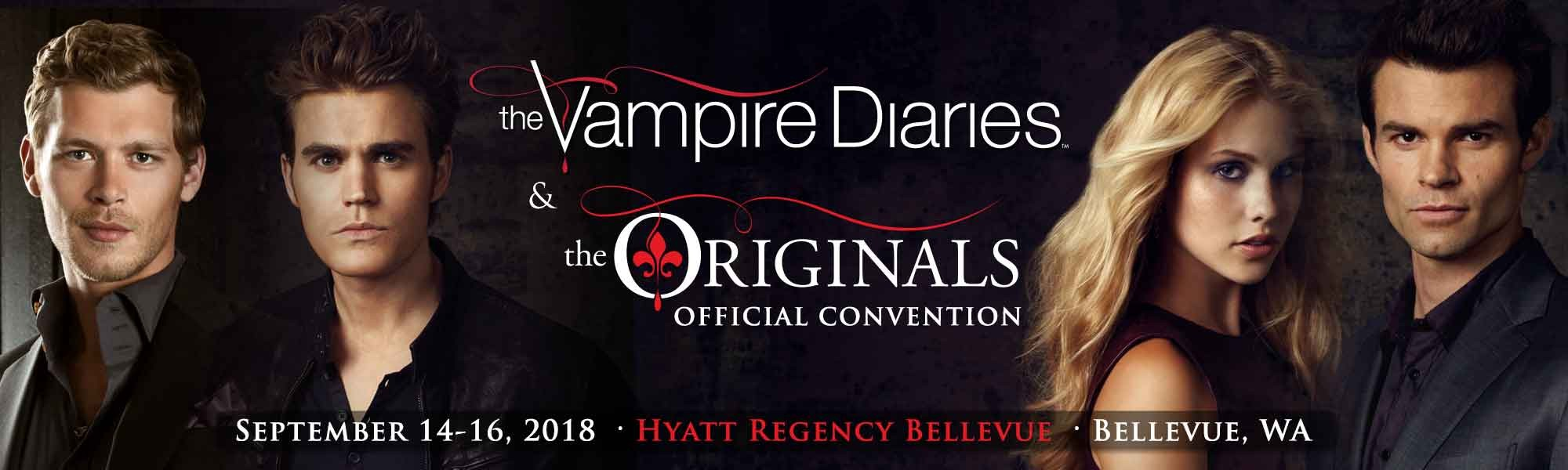 The vampire diaries the originals convention at hyatt regency if the vampire diaries and the originals are your favorite shows about werewolves and blood sucking immortals heres a convention for you m4hsunfo