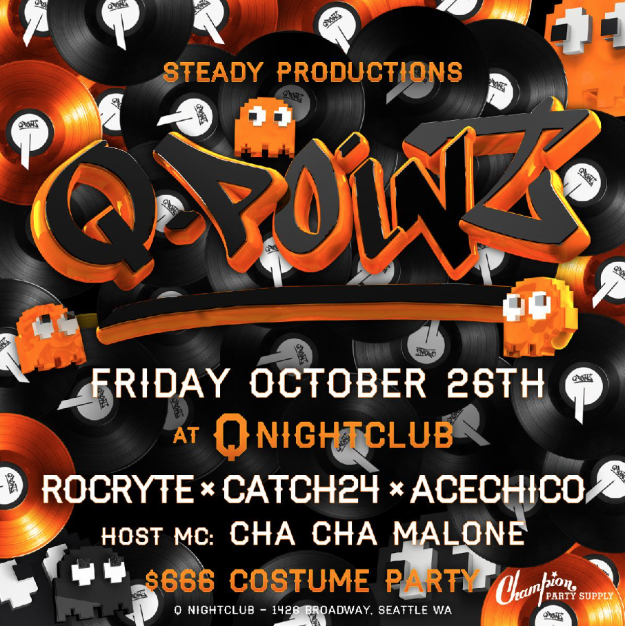 q-point: halloween at q nightclub in seattle, wa on fri oct 26, 10