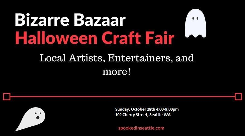 bizarre bazaar halloween craft fair