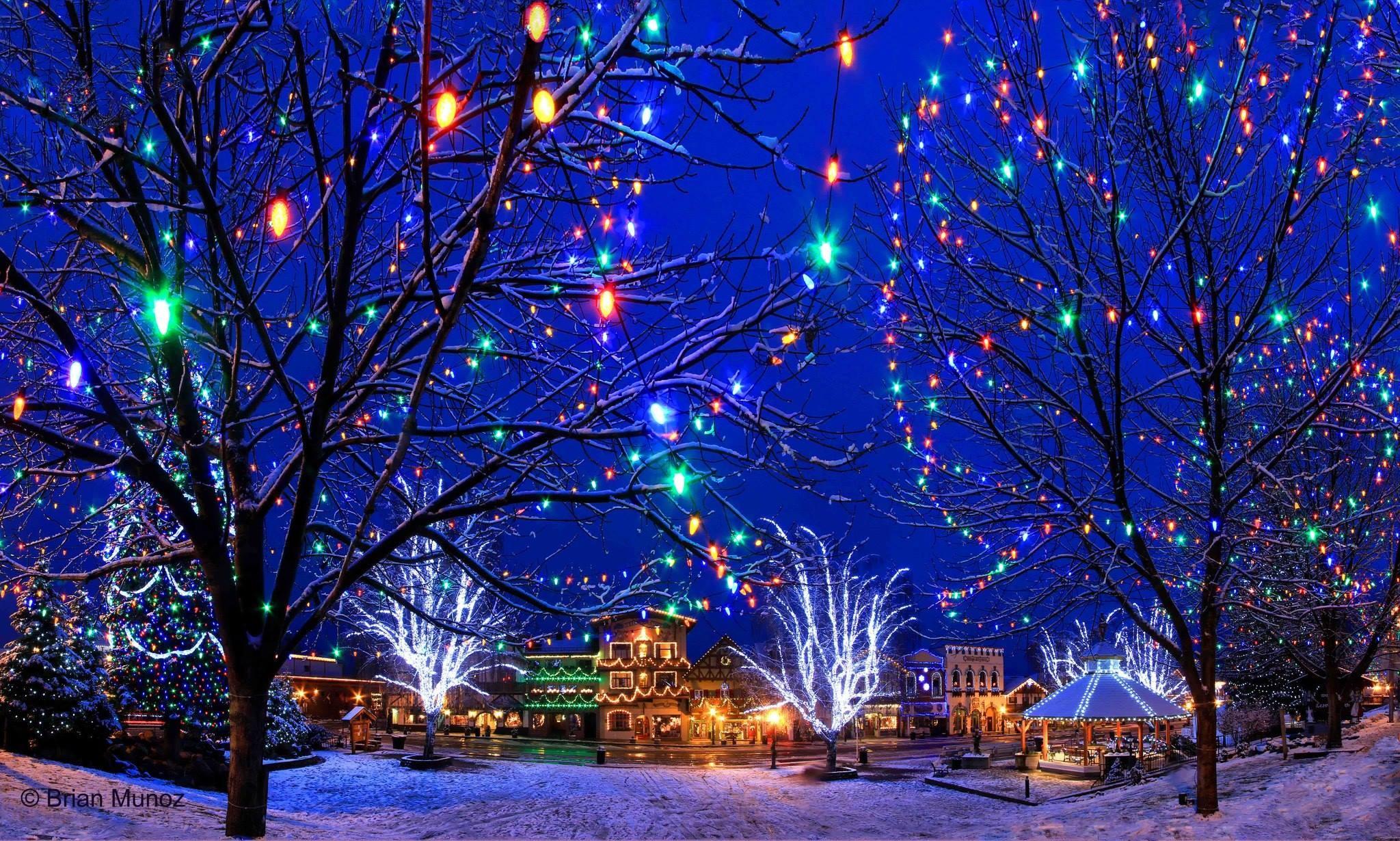 Leavenworth Tree Lighting Getaway From Seattle And