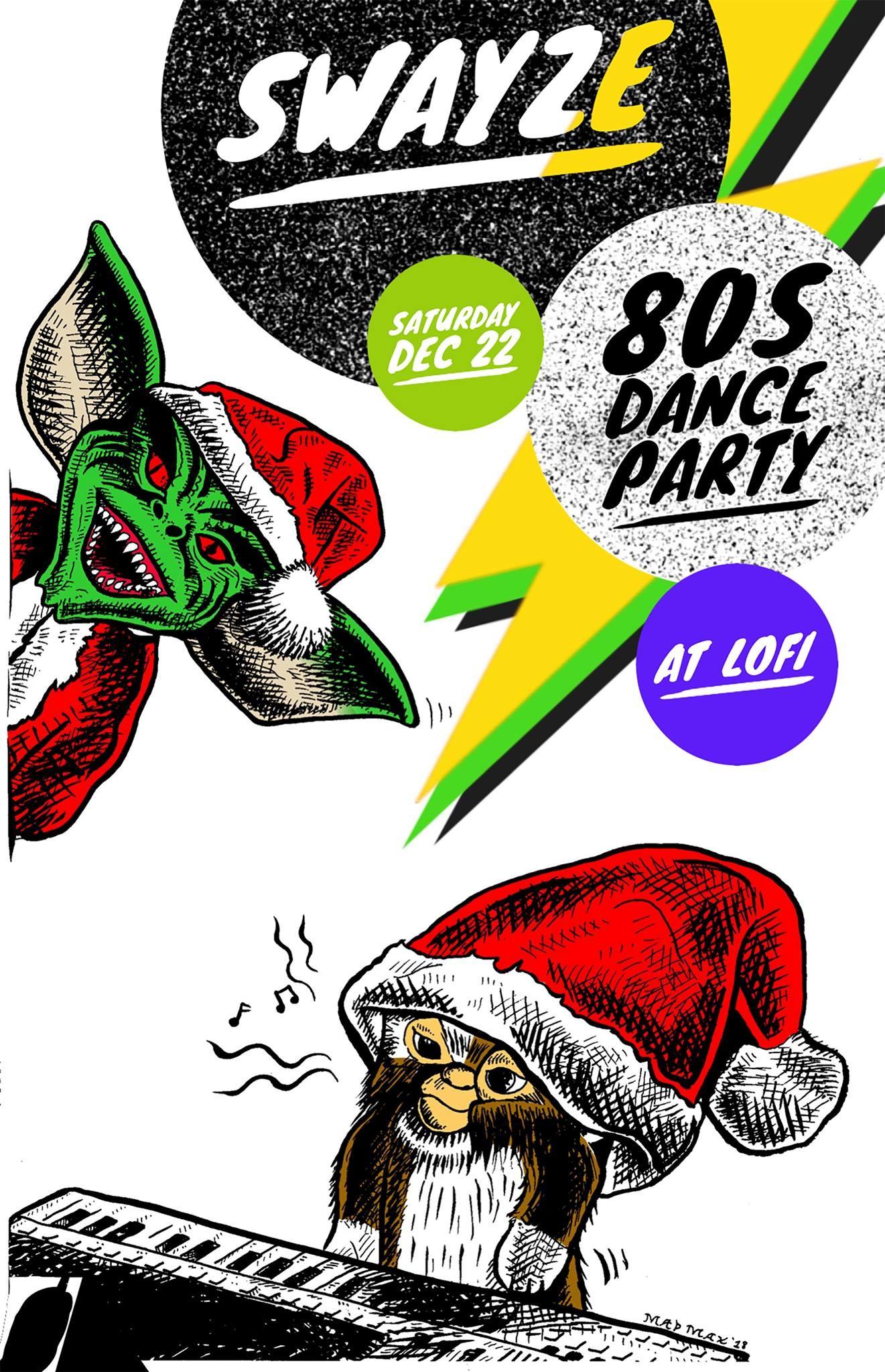 Swayze 80s Dance Party