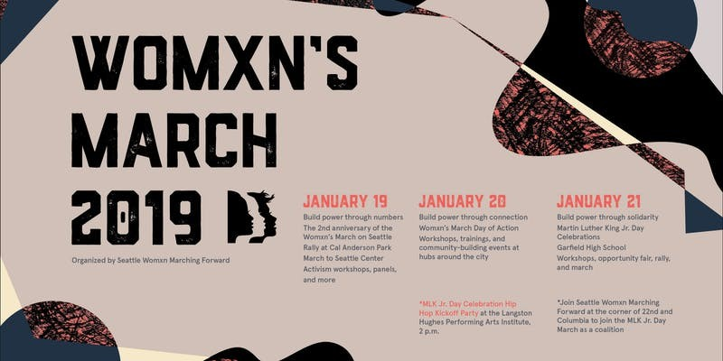 Womxn S March Seattle 2019 At Various Locations In Seattle Wa On